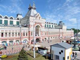 Здание Нижегородской ярмарки