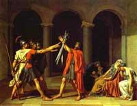 Клятва Горациев (Жак Луи Давид)