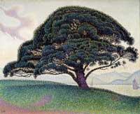 Сосна в Сан-Тропе (Поль Синьяк)