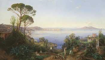 Неаполитанский залив (Егор Григорьевич Солнцев)